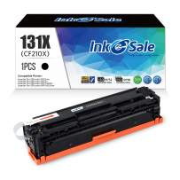 INK E-SALE Remanufactured Toner Cartridge Replacement for HP 131A CF210A 131X CF210X (Black, 1-Pack), for use with HP MFP M276nw HP Laserjet Pro 200 Color M251nw, Canon MF8280Cw LBP7110Cw Printer