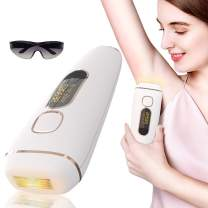 Hair Removal for Women and Man,Petame IPL Laser Hair Removal Permanent Painless Facial body Profesional Hair Remover Device Hair Treatment Wholebody Home Use with 500,000 Flashes