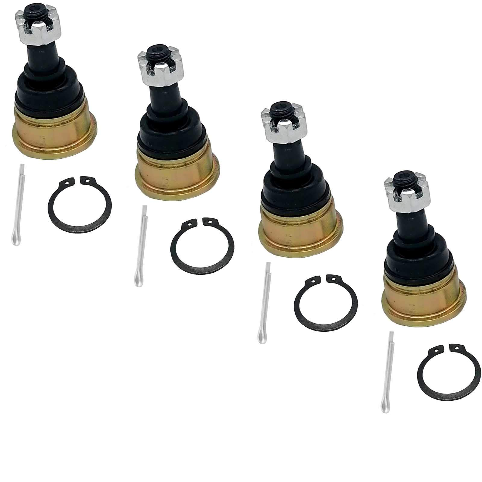 GAOSHUN Ball Joint for Yamaha 5LP-23579-00-00 Raptor 700 YFM700 Suzuki 52440-21812-YD8 Quadsport Z250 Upper Lower 4 Pack