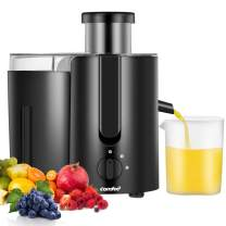 Juicer Extractor, High Speed Juicer, BPA Free, with BPA Free Plastic Juice Cup 400W, 2000RPM by Comfee