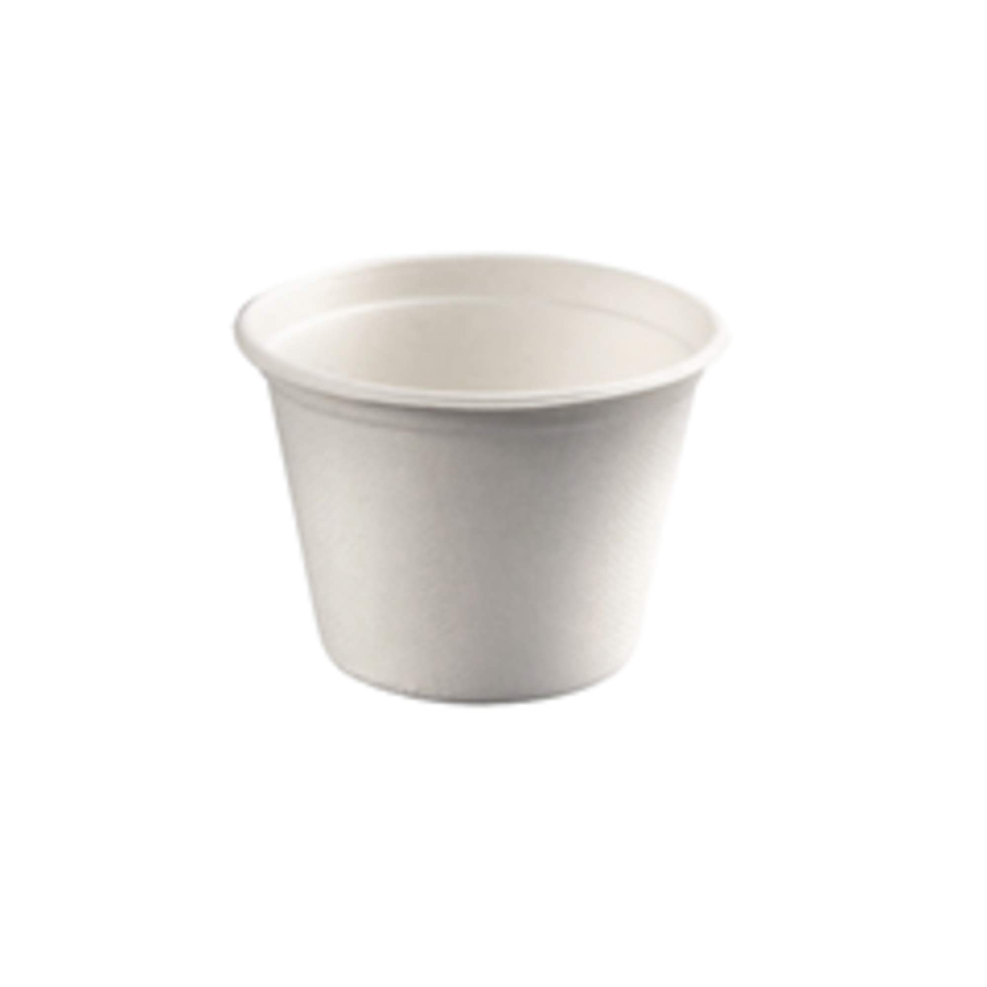 """Round Sugarcane Soup Container (Case of 500), PacknWood - Compostable and Biodegradable Soup Bowls (12 oz, 4.3"""" Diameter) 210GPU350"""