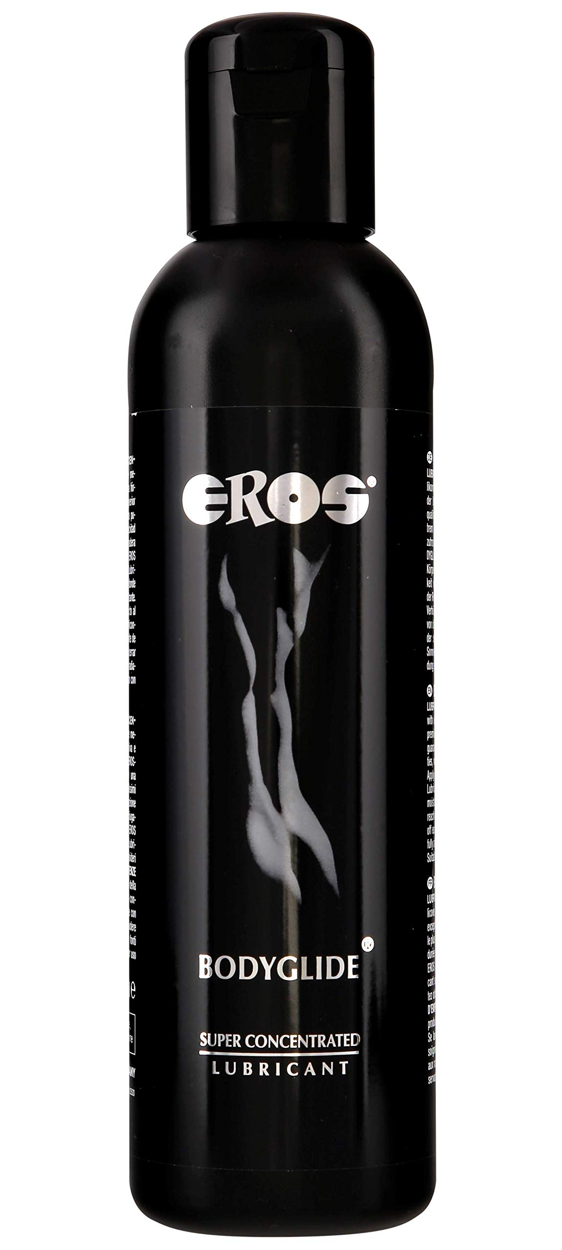 Megasol EROS Bodyglide Super Concentrated Body Gel - Silicon Based Personal Lubricant. Latex Condom Safe, Ultra Long-Lasting Sex Lube Without Parabens or Glycerin ~ 500 mL