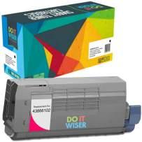 Do it Wiser Compatible Toner Cartridge for Oki C711 C710 C710N C711DN C711N - 43866102 (Magenta 11,500 Pages)