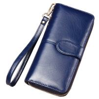 Newbestyle Womens Genuine Leather Purse Wristlet Wallet Clearance