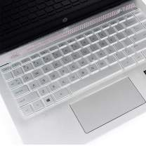"""Keyboard Cover Compatible 2019 New HP Sream 14-ds Serires 14-ds0050nr 14-ds0060nr  2019 2018 HP Pavilion x360 14"""" Laptop 14t 14-CD 14M-BA 14M-CD 14-BF 14-BW 14-cm 14-CF Series-TPU"""