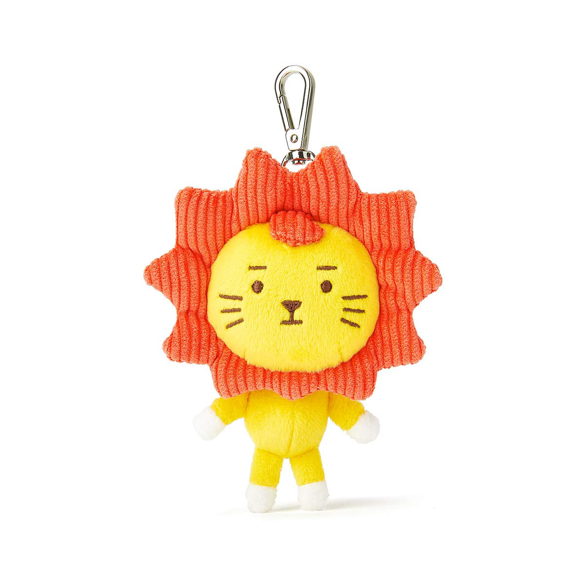 Roy6 Merchandise with Line Friends - ROYAN Character Bag Charm keychain keyring Key Holder, Red
