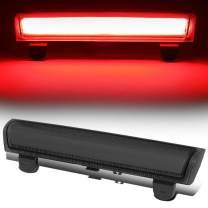 Smoked Lens 3D LED Tube Bar Third 3rd Tail Brake Light Stop Lamp Replacement for Chevy Suburban Tahoe GMC Yukon XL 00-06