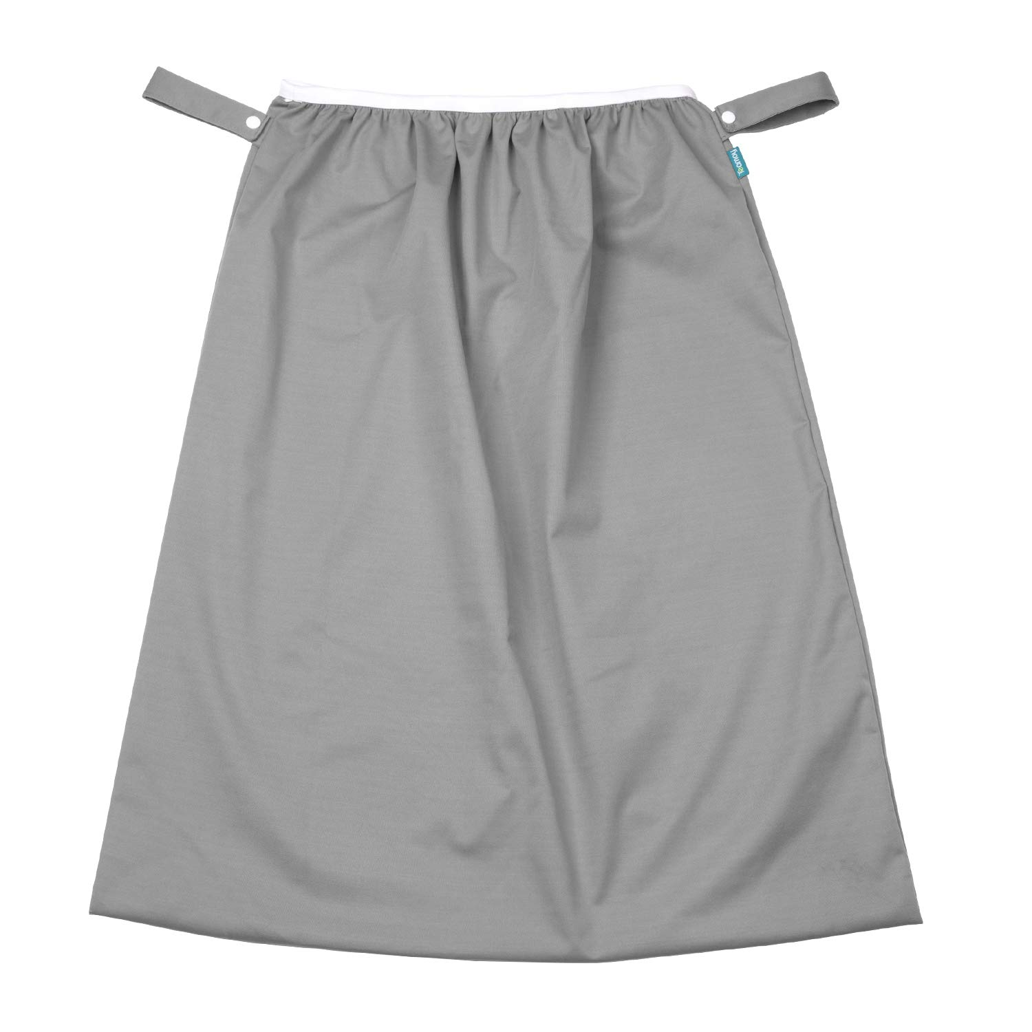 Teamoy Reusable Pail Liner for Cloth Diaper/Dirty Diapers Wet Bag, Slate