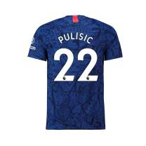 MXICAJSD Christian Pulisic 2019-2020 Chelsea NO.22 Men's Home Jersey Blue