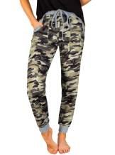 NIMIN Women's High Waist Drawstrings Jogger Pants Yoga Sweatpants with Pockets