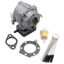 KIPA Carburetor for Brigg & Stratton 694026 495035 499281 495029 493010 394368 Craftsman Lawn Tractor, with Mounting Gasket & Carbon Dirt Jet Cleaner Tool Kit