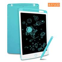 LCD Writing Tablet, Richgv 8.5 Inch Doodle Board Kids Drawing Tablet, Doodle Pad Light Drawing Board for Kids Blue
