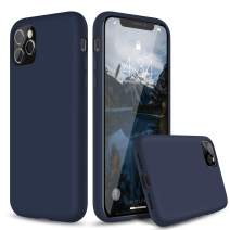 """abitku iPhone 11 Pro Max Case, Liquid Silicone Gel Rubber Shockproof Protective Case Cover (Full Body Case with Microfiber Lining) Compatible with iPhone 11 Pro Max 6.5""""(Blue Horizon)"""