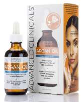 Advanced Clinicals Luxury Pure Argan Oil. Lightweight facial Oil Reduces the Appearance of Wrinkles and hydrates dry skin. 1.8 Fl Oz.