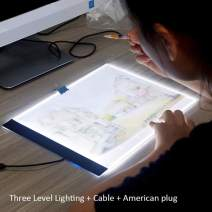 Ochine Home Desktop Dimmable Tracer Lamp Pad Led Diamond Painting Board Sketch Painting Tools
