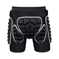 Protection Hip,3D Padded Shorts Breathable Protective Gear for Ski Skate Snowboard Skating Skiing