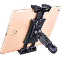Moutik Bike Tablet Stand Holder Adjustable:Tationary Bicycle Recumbent Indoor Exercise Rotatable Car Phone Mount Gym Holder Treadmill Compatiable for iPad/iPhone Cellphone Tablet Kindle Accessories