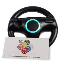 GH Mario Kart 8 Wheel for Nintendo Wii , Steering Wheel for Remote Plus Controller - Bomb Black (6 Colors Available)