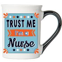 Cottage Creek Nurse Mug Large 18 Ounce Trust Me I'm A Nurse Coffee Mug/RN Mug [White]