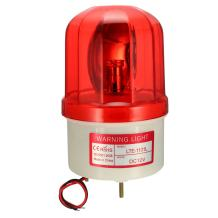 uxcell LED Warning Light Rotating Flashing Industrial Signal Alarm Tower Lamp DC 12V Red LTE1101L