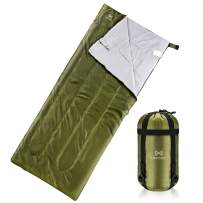 Sleeping Bag for Indoor Outdoor Use -Sleeping Bag Blanket Lightweight Premium Sleeping Bags for Adults, Kids and Teens - Warm and Water Resistant for Home, Camping, Hiking and Backpacking
