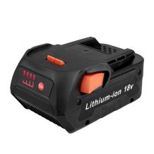 Biswaye R840087 Replacement RIDGID 18-Volt Lithium Battery for RIDGID 18V Cordless Drill Tools Battery AC840087P R840085 R840086 R840083 R840095 AC840086 AC840085 R86092