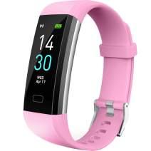 Vabogu Fitness Tracker HR, with Blood Pressure Heart Rate Monitor, Pedometer, Sleep Monitor, Calorie Counter, Vibrating Alarm, Clock IP68 Waterproof for Women Men