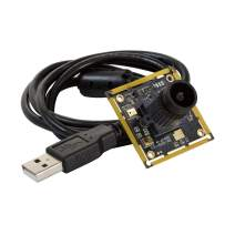 """Arducam 1080P Low Light WDR USB Camera Module for Computer, 2MP 1/2.8"""" CMOS IMX291 120 Degree Wide Angle Mini UVC Webcam Board with Microphone, 3.3ft/1m Cable for Windows Linux Mac OS"""