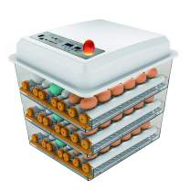 JAEDO Automatic Egg Incubator 150~180 Egg Incubator Digital Automatic Hatcher with Egg Turning for Chickens Ducks Goose Birds