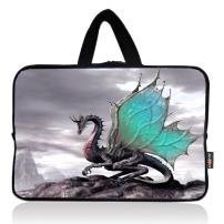 AUPET Cool Dragon Universal 7~8 inch Tablet Portable Neoprene Zipper Carrying Sleeve Case Bag
