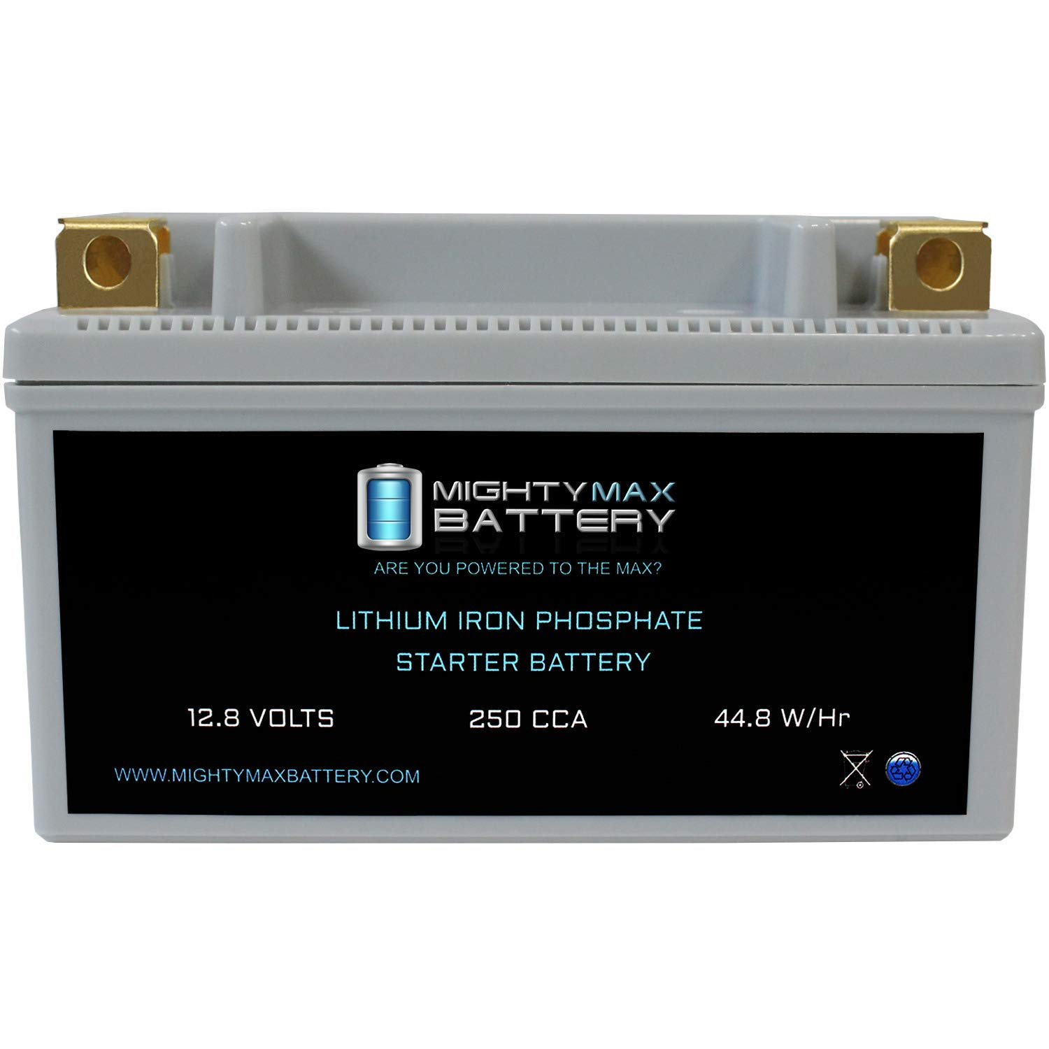 Mighty Max Battery YTX12-BS Lithium Battery Replacement for MBTX12U, HTX12-BS Brand Product