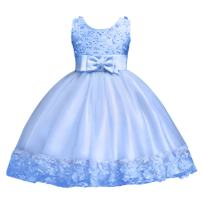 Baby Girl Short Lace Flower Princess Wedding Party Pageant Birthday Tutu Dress Baptism Christening Gowns