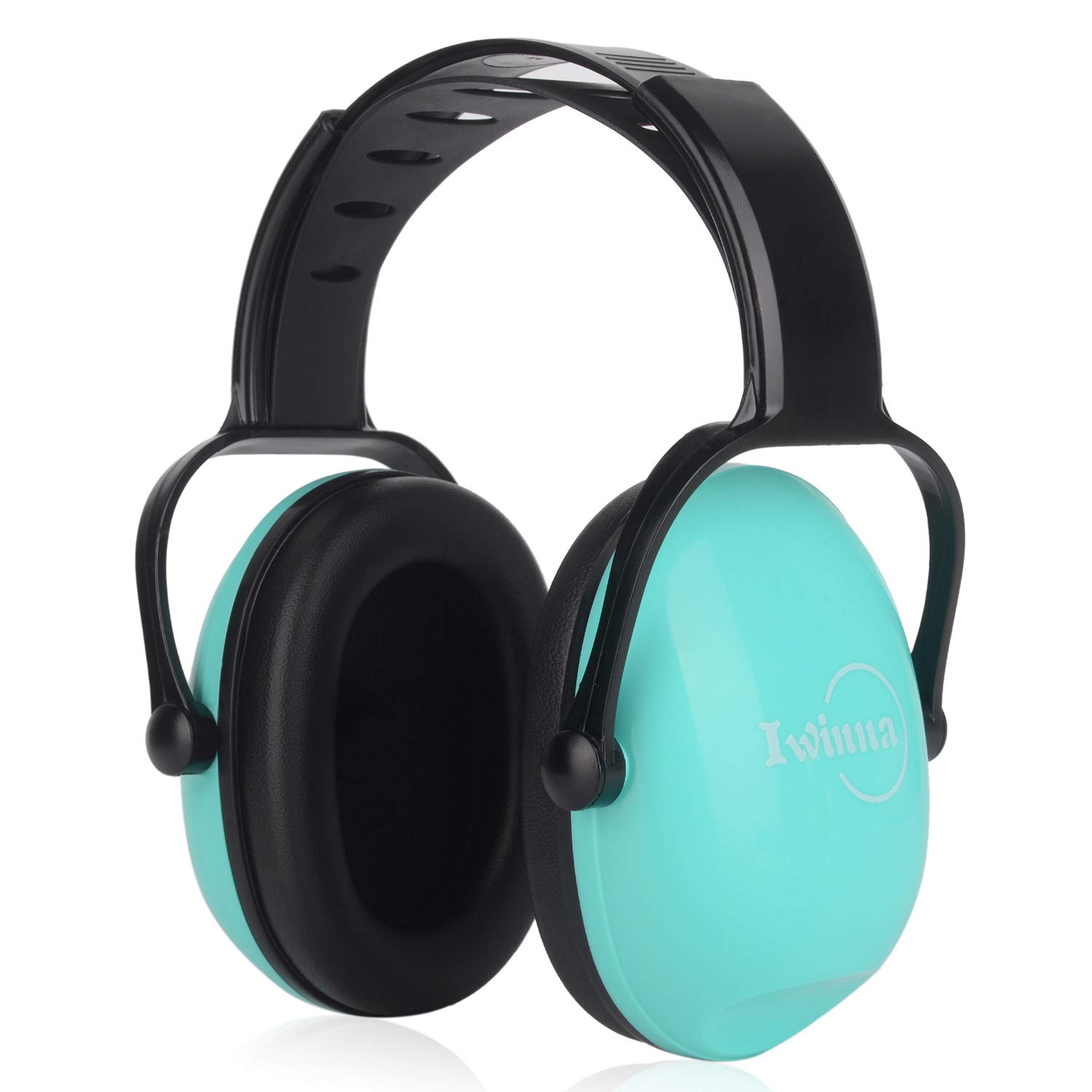 Kids Ear Protection Noise Cancelling Earmuffs for Autism Babies Children Toddlers Small Adults Safety Ear Muffs for Sleeping Studying Shooting Racing Fireworks Sports, Mint Green