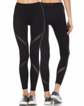 CFR Women's Yoga Pants High Waist Sport Skinny Leggings Sexy Mesh Stretch Fitness Trousers 3 Styles UPS Post