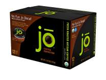 NO FUN JO DECAF: 72 Cup Organic Swiss Water Process Decaffeinated Single Serve Coffee, Eco-Friendly Cup for Kuerig 1.0 & 2.0 K-Cup Brewers, Medium/Dark Roast, Non-GMO, Chemical Free, Gluten Free Decaf