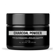 Teeth Whitening Activated Charcoal Powder Genkent 100% Natural & Organic Coconut for Stronger Healthy Whiter Teeth 2.12oz