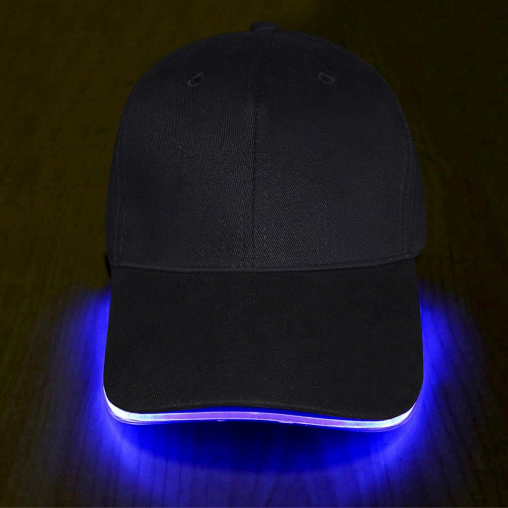 Fashion&cool LED Hat - Ultra Bright Lights Unisex Baseball Cap One Size Fits All