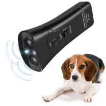 Humutan Handheld Dog Repellent, Ultrasonic Infrared Dog Deterrent, Dog Training for Small Medium Large Dogs