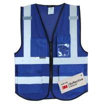 Salzmann 3M Multi-Pocket Working Mesh Vest | High Visibility Reflective Mesh Vest | Made with 3M Reflective Material