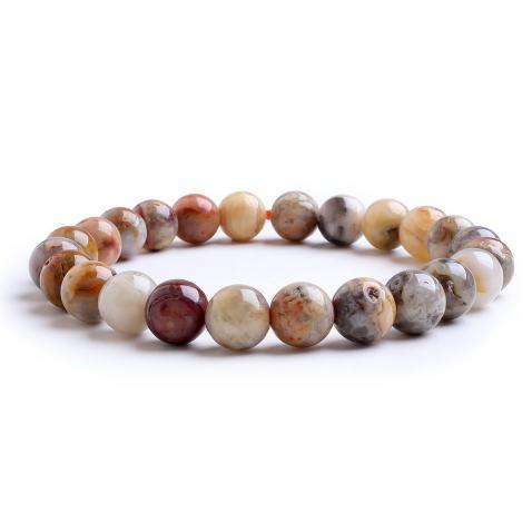 Energy Protection Natural 7 Chakra Beads Bracelet Stone Handmade 8mm Stretch Women Men