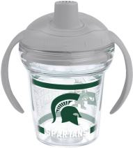 Tervis Michigan State Spartans Sippy Cup With Lid, 6 oz, Clear