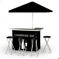 Best of Times Portable Deluxe Bar, Champagne Bar
