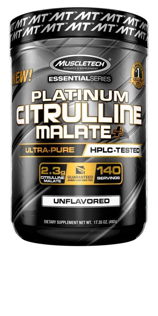 Muscletech Essential Series Citrulline Malate Powder 140 Servings, 17.35 oz