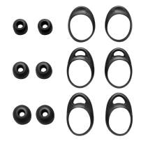 TEEMADE Eartips Wingtips for Gear Iconx Headphones,S/M/L 3 Sizes Silicone Ear Tips & Ear Hooks,Fit for Gear Iconx SM-R140