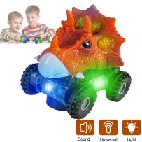 Niskite Dinosaur Toys for 3-8 Year Old Boys, Automatic Dinosaur Car with Led Flashlight and Dinos Sound,Best Birthday Gifts for Boys Girls