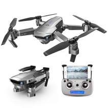 GoolRC SG907 GPS Drone, 5G WiFi FPV Foldable Drone with 1080P HD Front Camera and 720P Optical Flow Positioning Camera, Follow Me, Gesture Photos/Video RC Quadcopter for Adults