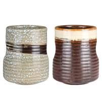 Sunddo Japanese Tea Cups Ceramic Teacup Mug Set of 2