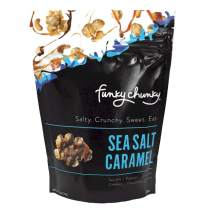 Funky Chunky Sea Salt Caramel Popcorn, 5 Ounce (Pack of 6)