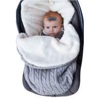 Oenbopo Newborn Baby Swaddle Blanket Wrap, Thick Baby Kids Toddler Knit Soft Warm Fleece Blanket Swaddle Sleeping Bag Sack Sleep Bag Stroller Unisex Wrap for 0-12 Month Baby Boys Girls