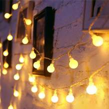 Led Globe Lights,43ft String Light Twinkle Lights Plug in 8 Modes Fairy Lights for Indoor Outdoor Umbrella Yard Wedding Party Bedroom Wall Decor with 30v Low VoltageTransformer,Extendable